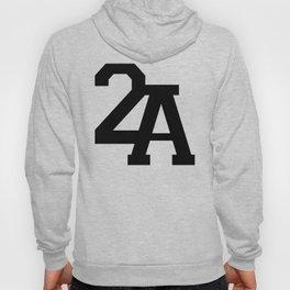 2A in Black Hoody