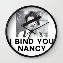 I Bind You Wall Clock
