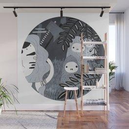 Cazadora de fantasmas Wall Mural