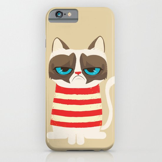 Grumpy meme cat  iPhone & iPod Case