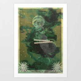 Alone, at last Art Print