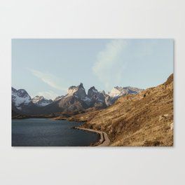 Patagonia Sunset Canvas Print