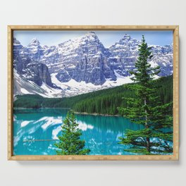 Canadian Wonder: Moraine Lake Serving Tray