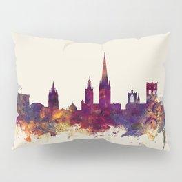 Norwich England Skyline Pillow Sham
