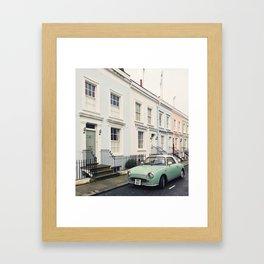 Figaro in Notting Hill, London Framed Art Print