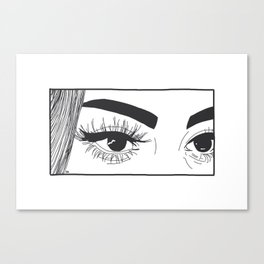 Staring Contest Canvas Print