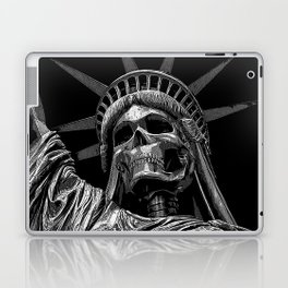 Liberty or Death B&W Laptop & iPad Skin