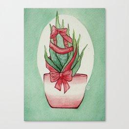 California Christmas 3 Canvas Print
