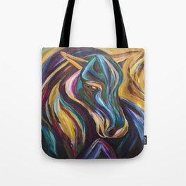 Polychrome Pony Tote Bag