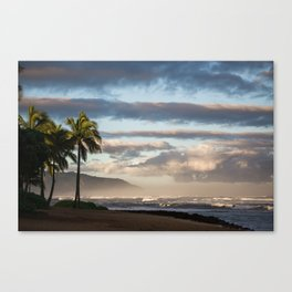 North Shore Hawaii Canvas Print