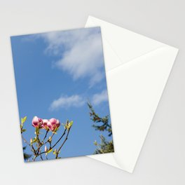Sky flowers Stationery Cards