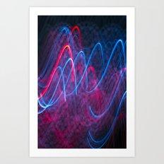 Light Wave Art Print