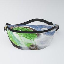 Mountain creek - birch leaf Fanny Pack