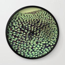 Oxidized Landscape Lime Wall Clock