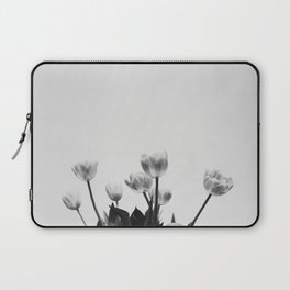 Black & White Tulips Laptop Sleeve