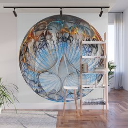Colored Sphere Wall Mural