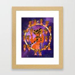 Queen 2 Chibi Set Framed Art Print