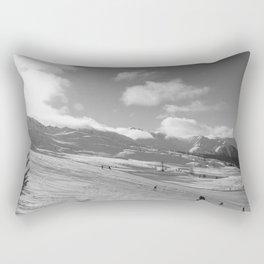 Mountain Landscape, Alps Rectangular Pillow