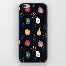 Vegetables pattern iPhone & iPod Skin