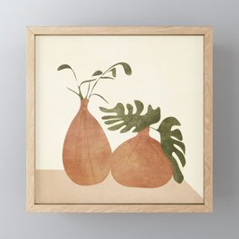 Two Living Vases Framed Mini Art Print