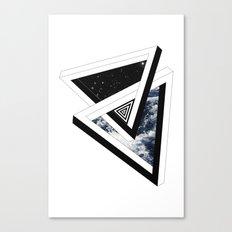 Above & Below Canvas Print