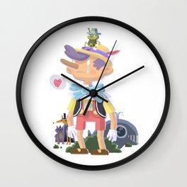 sad pinoche Wall Clock