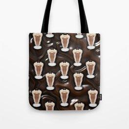 Liquid Chocolate Chocolate Shake Tote Bag