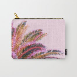 Fiesta palms - candy pink Carry-All Pouch