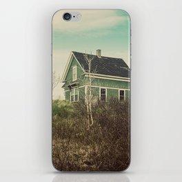 The Green Farmhouse iPhone Skin