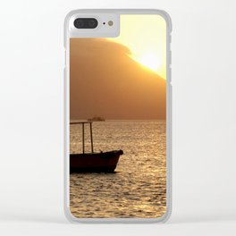 Titicaca 3 Clear iPhone Case