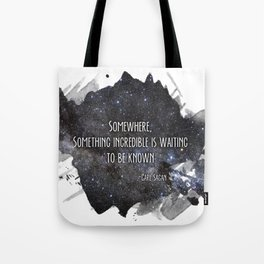 be discovered Tote Bag