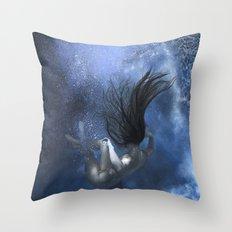 Succumb 2 Throw Pillow