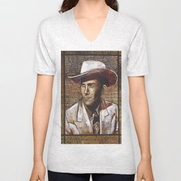 Just Another Guy on a Lost Highway Unisex V-Neck