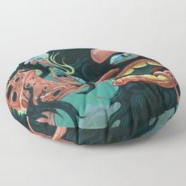 Guardian of the Bubble Pipes of Creation Floor Pillow