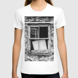 Wood, Glass and Stone T-shirt