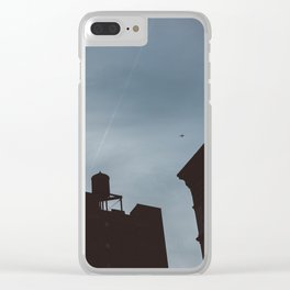 Chelsea Sunset Clear iPhone Case