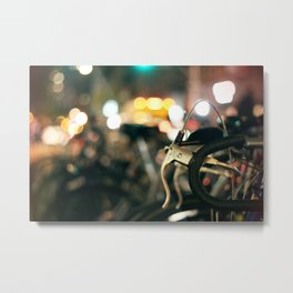 Bicycles of NYC Metal Print