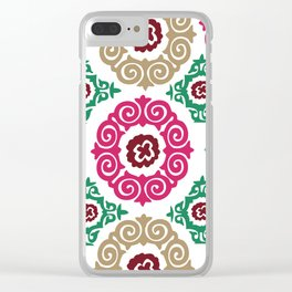 Pipa Suzani Clear iPhone Case