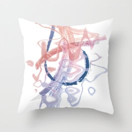 Jazz and Blues Throw Pillow