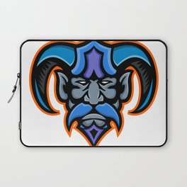 Hades Greek God Head Mascot Laptop Sleeve