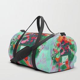 Parfum Flowers Duffle Bag