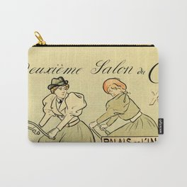 1894 Paris Second Expo of the bicycle horizontal banner Carry-All Pouch