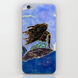 Lady of the Atlantic Crossing iPhone Skin