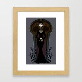 Morticia Addams Framed Art Print