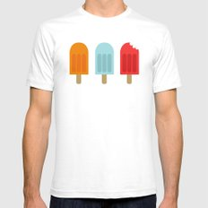 Ice Lollies Mens Fitted Tee White SMALL