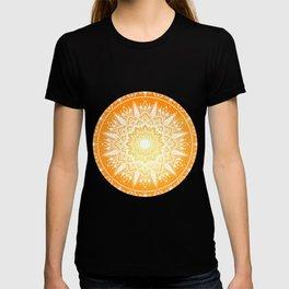 Sunset mandala T-shirt