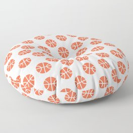 Basketball Pattern Floor Pillow