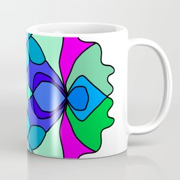 Colorful Henna Mandala Coffee Mug