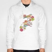 country Hoodies featuring Country Garden by Amanda Dilworth