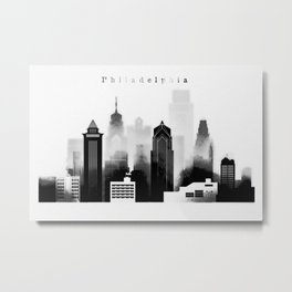 Philadelphia graphic work Metal Print